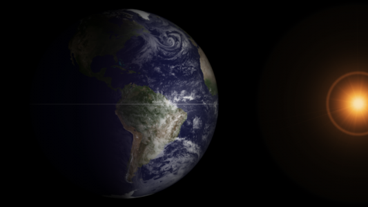 Equinox GOES satellite image NOAA