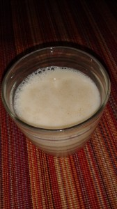 maple milk– a vegan cousin of eggnog
