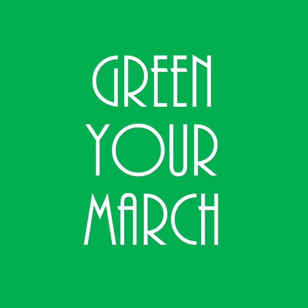 march sustainably
